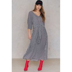 Długie sukienki: SheIn Długa sukienka z rozcięciem - Multicolor