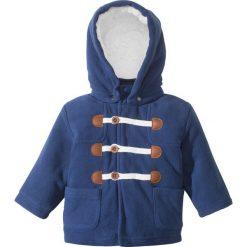 Bluzy niemowlęce: Bluza z polaru niemowlęca bonprix kobaltowy