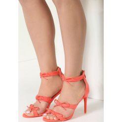 Pomarańczowe Sandały Numinous. Brązowe sandały damskie vices, na wysokim obcasie. Za 99,99 zł.