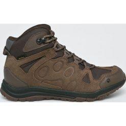 Jack Wolfskin - Buty Rocksand Texapore Mid. Szare buty trekkingowe męskie Jack Wolfskin, z materiału, na sznurówki, outdoorowe. W wyprzedaży za 479,90 zł.