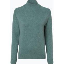 Marie Lund - Damski sweter z wełny merino, zielony. Zielone swetry klasyczne damskie Marie Lund, s, z dzianiny. Za 249,95 zł.