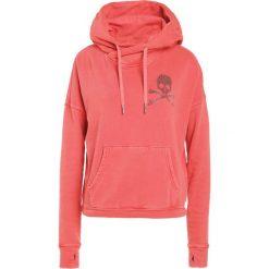 Bluzy rozpinane damskie: True Religion BOXY CROP HOODY SKULL Bluza z kapturem scarlet red