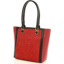 MONNARI Klasyczna torebka shopper bag czerwony. Czerwone shopper bag damskie Monnari, ze skóry, na ramię. Za 169,00 zł.
