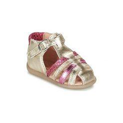 Sandały Dziecko  Babybotte  GUPPY. Żółte sandały dziewczęce marki Babybotte. Za 209,30 zł.