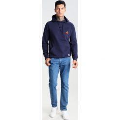 Bejsbolówki męskie: RVLT POPPING HOODIE Bluza z kapturem blue
