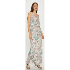 Haily's - Sukienka. Szare długie sukienki marki Haily's, na co dzień, l, z materiału, casualowe, z okrągłym kołnierzem, na ramiączkach, oversize. Za 69,90 zł.