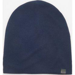 Czapka - Granatowy. Niebieskie czapki męskie Reserved. Za 39,99 zł.