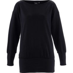 """Bluza """"oversize"""" bonprix czarny. Czarne bluzy damskie bonprix. Za 74,99 zł."""