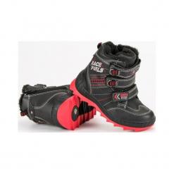 Buty dziecięce ocieplane czarne r. 29. Czarne buciki niemowlęce American CLUB, na zimę. Za 141,29 zł.
