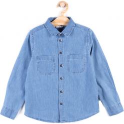 Koszula. Niebieskie koszule chłopięce z długim rękawem marki HIGH 5, z bawełny, polo. Za 49,90 zł.