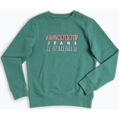 Tommy Hilfiger - Chłopięca bluza nierozpinana, zielony. Zielone bluzy chłopięce rozpinane TOMMY HILFIGER, z haftami. Za 279,95 zł.