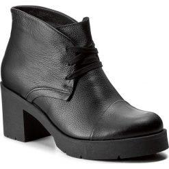 Botki KABAŁA - 251-520-516-1-00-01-01 Czarny. Czarne botki damskie skórzane marki Kabała. W wyprzedaży za 279,00 zł.