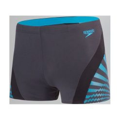 Kąpielówki męskie: Speedo Kąpielówki Męskie Chevron Spl Asht Am Grey/Blue r. 38 (811348C587)