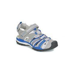 Sandały sportowe Dziecko  Geox  J BOREALIS B. C. Szare buty sportowe chłopięce Geox. Za 209,30 zł.