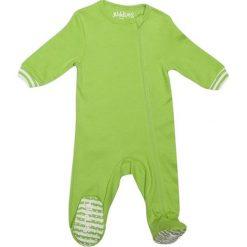 Pajacyki niemowlęce: Śpiochy w kolorze zielonym