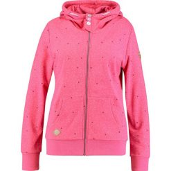 Bluzy rozpinane damskie: Ragwear Plus CHELSEA HEARTS ZIP PLUS Bluza rozpinana pink melange