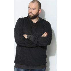 Swetry klasyczne męskie: Ciemnoszary Sweter See You