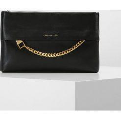 Puzderka: Karen Millen CHAIN ZIP BAG COLLECTION Kopertówka black