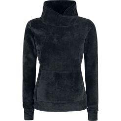 Swetry klasyczne damskie: Bench Heritage Overhead Fleece Funnel Sweter damski czarny