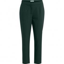 """Spodnie """"Conella"""" w kolorze ciemnozielonym. Zielone spodnie z wysokim stanem marki Vila & Co. W wyprzedaży za 86,95 zł."""