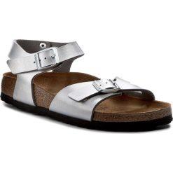 Sandały dziewczęce: Sandały BIRKENSTOCK - Rio Kids 0731483 Silver