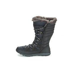 Śniegowce Sorel  WHITNEY LACE. Czarne buty zimowe damskie Sorel. Za 455,99 zł.