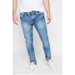 Only & Sons - Jeansy. Niebieskie jeansy męskie regular Only & Sons, z aplikacjami, z bawełny. W wyprzedaży za 69,90 zł.