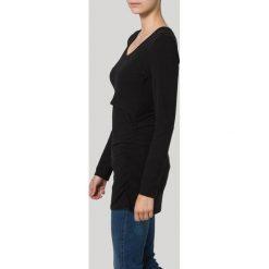 Bluzki asymetryczne: Boob FLATTER ME NURSING Bluzka z długim rękawem black