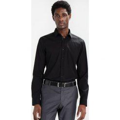 Koszule męskie na spinki: Eterna SUPER SLIM FIT Koszula biznesowa schwarz