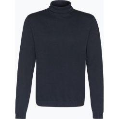 Finshley & Harding - Sweter męski – Pima-Cotton/Kaszmir, niebieski. Niebieskie swetry klasyczne męskie Finshley & Harding, m, z bawełny. Za 249,95 zł.