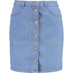 Spódniczki ołówkowe: Second Female ALGI  Spódnica ołówkowa  light blue denim