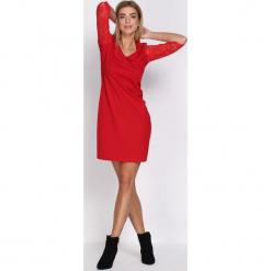 Czerwona Sukienka For My Heart. Czerwone sukienki hiszpanki Born2be, l, midi, oversize. Za 69,99 zł.