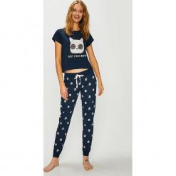 Answear - Piżama. Szare piżamy damskie marki ANSWEAR, l, z nadrukiem, z bawełny. W wyprzedaży za 99,90 zł.