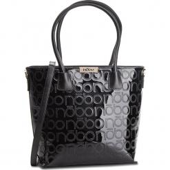 Torebka NOBO - NBAG-F0200-C020 Czarny. Czarne torebki klasyczne damskie Nobo, ze skóry ekologicznej, zdobione. W wyprzedaży za 179,00 zł.