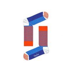 Skarpetki Happy Socks HAS01-2000. Czerwone skarpetki męskie marki DOMYOS, z elastanu. Za 24,43 zł.