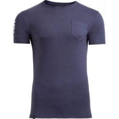 T-shirt męski TSM603 - ciemny granatowy - Outhorn. Niebieskie t-shirty męskie Outhorn, na lato, m, z bawełny. W wyprzedaży za 24,99 zł.