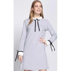 Jasnoszara Sukienka Too Original. Szare sukienki hiszpanki Born2be, l, wizytowe. Za 69,99 zł.