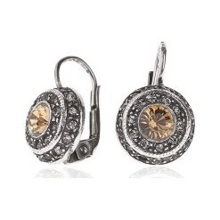 Biżuteria i zegarki: Kolczyki Srebrne - srebro 925, Swarovski