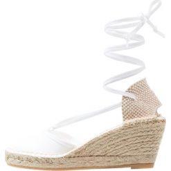 Buty ślubne damskie: Espadrij l´originale PYRENEES Czółenka na platformie blanc