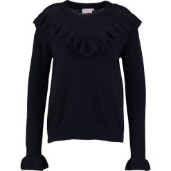 Swetry klasyczne damskie: Kaffe HELLEN AYA  Sweter midnight marine
