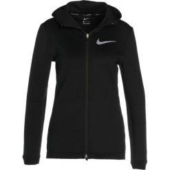 Nike Performance SHOWTIME Kurtka sportowa black/white. Czarne kurtki sportowe damskie marki Nike Performance, xl, z elastanu. W wyprzedaży za 343,20 zł.