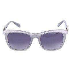 """Okulary przeciwsłoneczne damskie: Okulary przeciwsłoneczne """"BL207302"""" w kolorze szaro-fioletowym"""