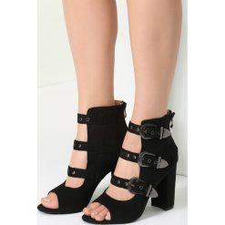Czarne Sandały Got A Perfect Look. Czarne rzymianki damskie vices, na wysokim obcasie. Za 129,99 zł.