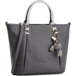 Torebka MONNARI - BAG7550-019 Grey. Szare torebki klasyczne damskie marki Monnari, ze skóry ekologicznej. W wyprzedaży za 207,00 zł.