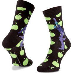 Skarpety Wysokie Unisex HAPPY SOCKS - BEA01-9000 Czarny Zielony. Czerwone skarpetki męskie marki Happy Socks, z bawełny. Za 39,90 zł.