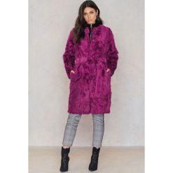 Płaszcze damskie pastelowe: FWSS Płaszcz Anne – Pink,Purple