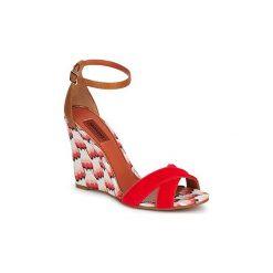 Sandały Missoni  VM067. Czerwone sandały damskie Missoni. Za 1719,20 zł.