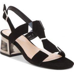 Sandały damskie: Sandały SOLO FEMME – 80812-11-020/000-07-00 Czarny