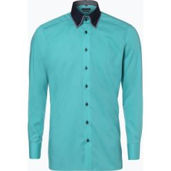 Koszule męskie na spinki: Finshley & Harding – Koszula męska, zielony