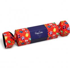 Happy Socks - Skarpety. Czerwone skarpetki męskie Happy Socks, z bawełny. Za 69,90 zł.
